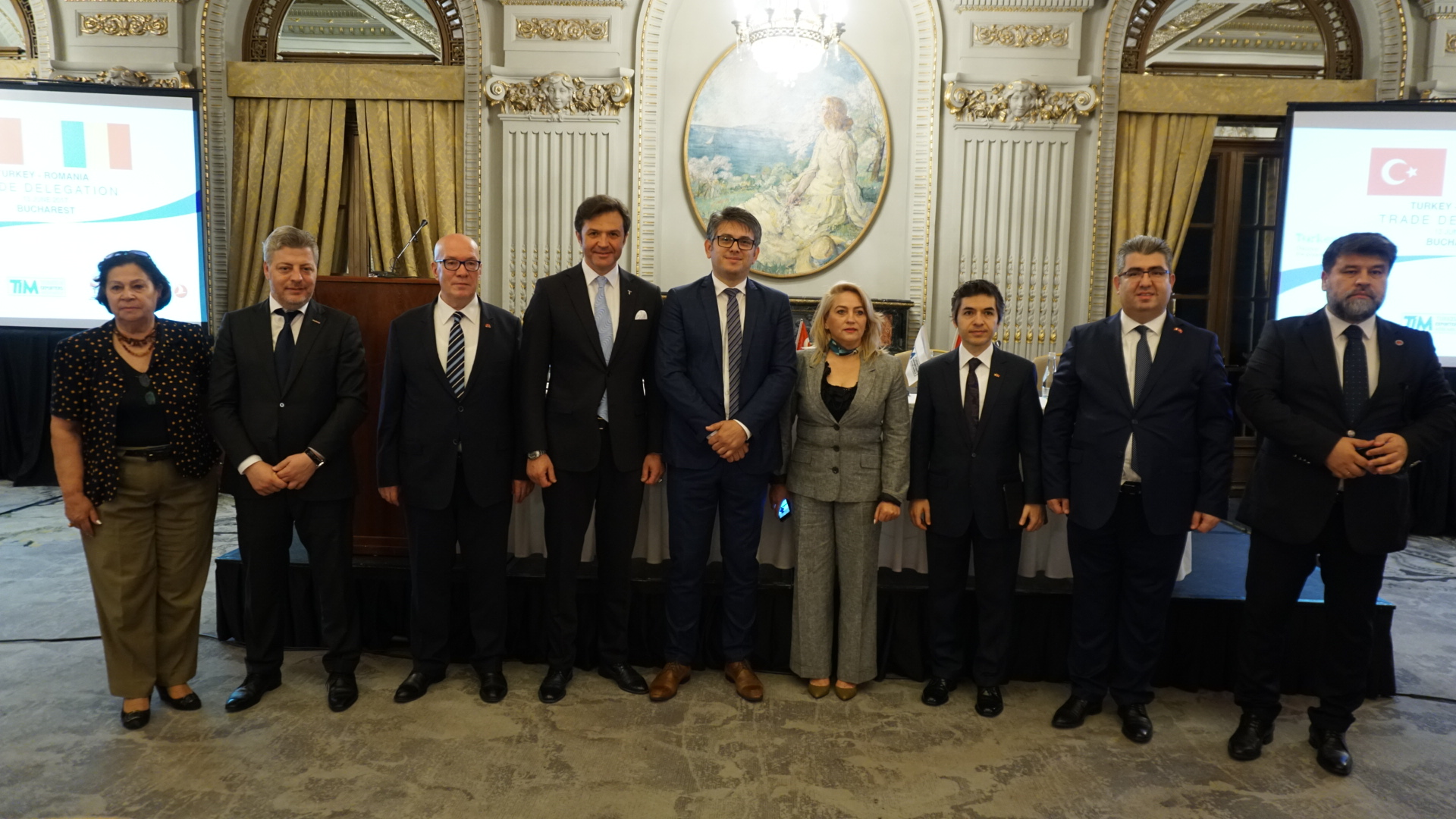 Turkey-Romania Trade Delegation Fulfilled Successfully