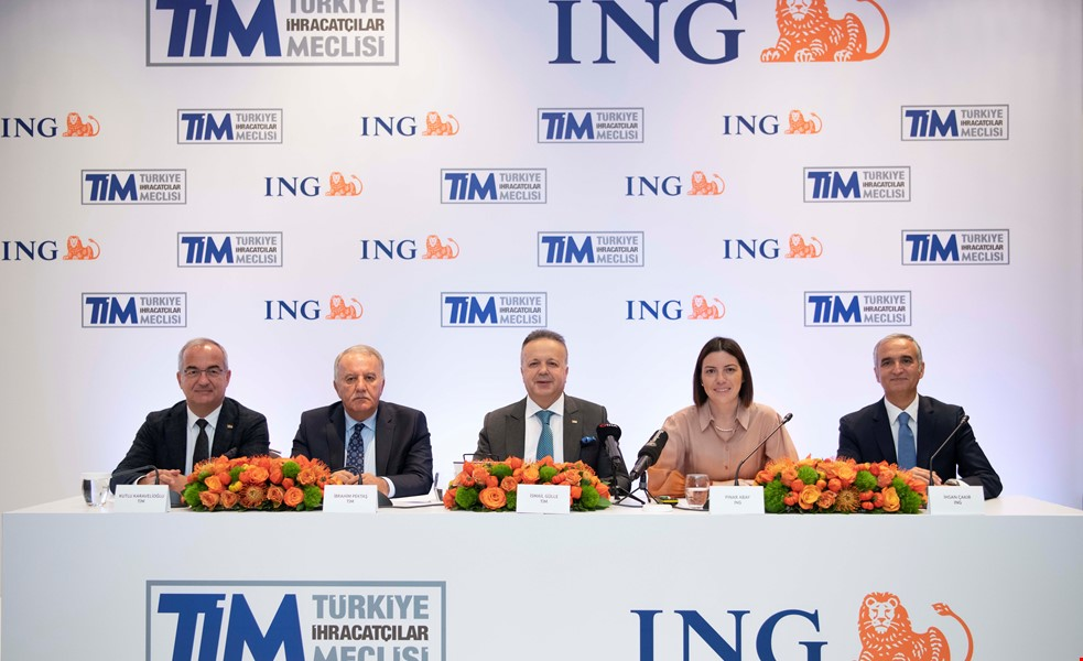EXPEDIENT LOANS TO EXPORTERS WITH THE COLLABORATION OF TİM AND ING TURKEY